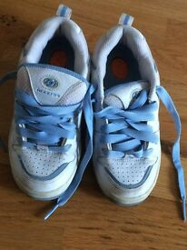 Heelys Blue & White