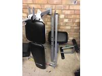 Weights Bench with Weights - plus Boxing Gloves