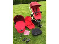 Quinny Buzz3 travel system incl carrycot and accessories
