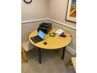 Sven Golden oak top office/meeting/conference/boardroom breakout table