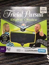 Trivial Pursuit digital choice/ game