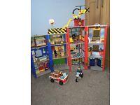 Fire & police station set
