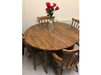 Dining table and 4 chairs bargain