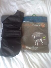 Ancol Muddy Paws Whippet Coat - Size Small
