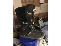 Motocross Alpinestar triumph boots size 10