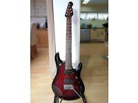 Musicman JP7 7-string guitar
