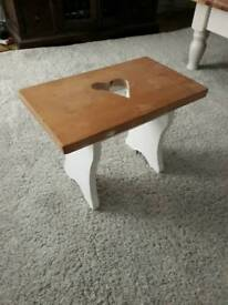 Wooden stool /Side Table