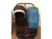 Baby Jogger City Mini Double Pram - Newest Style - Excellent Condition