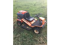 Ausa ride on bank mower rough cut mower flail