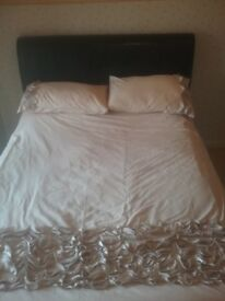Double bed for sale in good condition. 2 drawers under bed