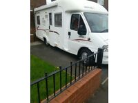 Fixed end bed 4 berth rapido motor home 786f mint in and out may px smaller camper cash either way