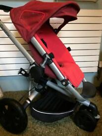 Quinny Buzz 3 Red Pushchair
