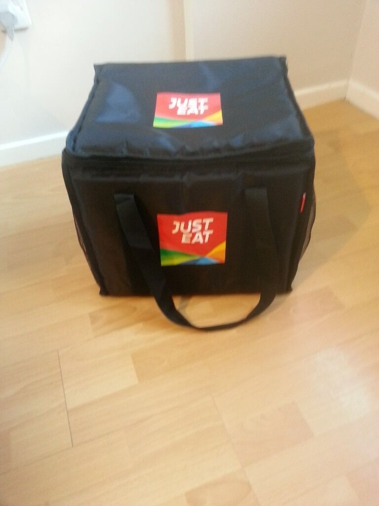 A Thermal Just Eat Food Bag Open To Offers
