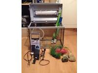 75l perfect condition tank with all equipment an accessories