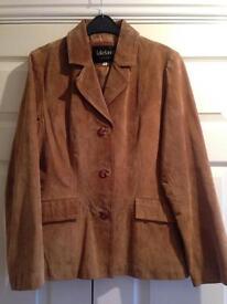 Beautiful Lakeland leather (suede) jacket - size 18