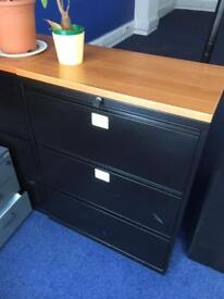 3 draw filing cabinet 5 available