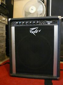 Heavy-duty Peavey TKO 65 Bass Amplifier Amp great sound guitar also suits keyboards
