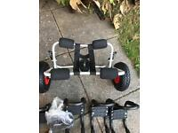 New kayak trolley & strap. + j. Bars for two kayak s fits roof bars new