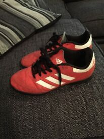 Size 3 junior adidas trainers