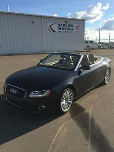 2012 Audi A5 2.0T - AWD, Cabriolet, Mint Condition
