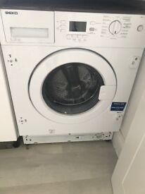Beko 7kg Integrated Washing Machine