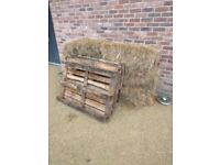 Free Haybales! - can be collected from Liverpool city centre