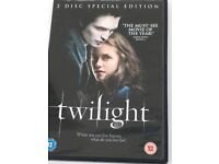 The Twilight 2 Disc Special edition plus free Twilight eclipse dvd