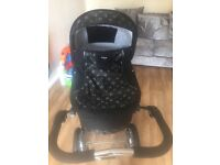 Celebration emmaljunga edge 3 in 1 pram, carry cot /adapter/pushchair as new .
