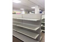 shop shelving very good condition