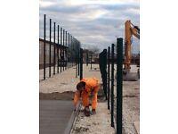 Sports Pitch fencing Installer & Labourer