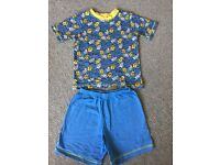 Minion Summer Pyjama T-Shirt and Short Set - Size 5