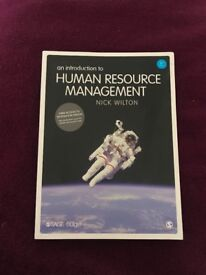 An Introduction to Human Resource Management textbook