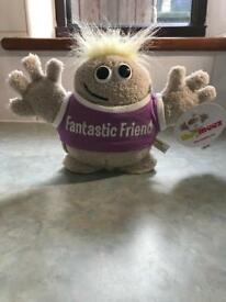 Brand New Fantastic Friend - Hugmeez soft toy