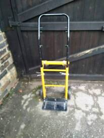 Trolley folding and adjustable