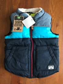 Boys Thick Gillet 6-9 months New Next