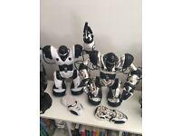 Robosapien, Robosapien Chrome & Roboraptor - 3 WowWee Robots