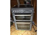 HOTPOINT ULTIMA DOUBLE GAS OVEN