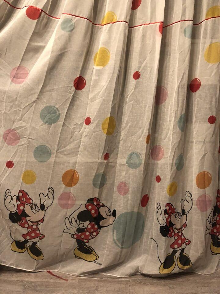 Minnie Mouse Gardine und Verdunkelungsgardinen