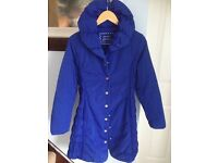 Coat per una mark and spencer size 12 blue