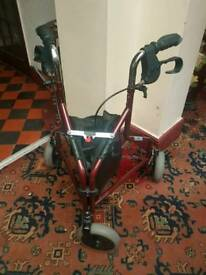 3 wheel folding mobility walker