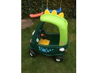 Little Tikes/Tykes Dino Cozy Coupe RRP new £59.99