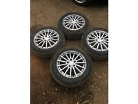 Original Mercedes C Class w205 16 Inch Alloy wheel Rims RDKS 16 Inch A2054012502