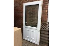 UPVC door-used