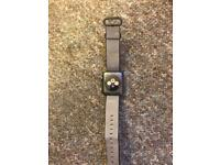 Apple Watch series 2 38mm Black woven nylon strap