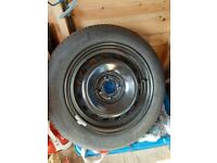 SPARE CAR WHEEL FITTED WITH MICHELIN ENERGY SAVER TYRE