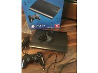 PS3 console 12gb and games
