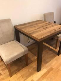 Dining table and chair (Next)