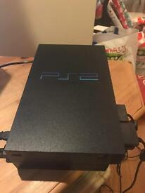 Ps2 bundle with games and controllers