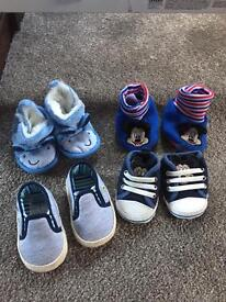 Boys 0-3 Months shoes