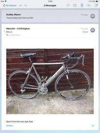 Raleigh Titanium Bike USA Design